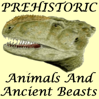 logo for our collection of prehistoric animals and ancient beasts